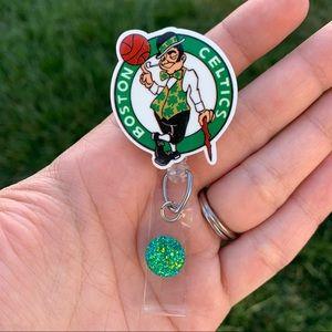 Boston Celtics Badge Holder